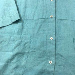 Coldwater Creek Tops - Easy Linen Shirt Jacket 100% Linen 2X NWOT